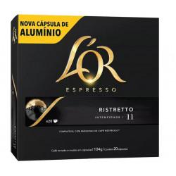 Café L'or Espresso Ristretto (20 capsulas - intensidade 11)