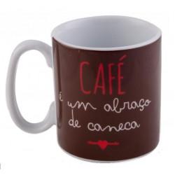 Caneca Café Abraço