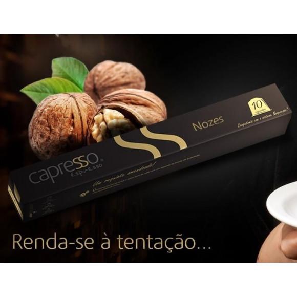 Café Vanilla e Nozes Capresso (10 cápsulas)