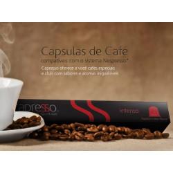 Café espresso Intenso Capresso (10 cápsulas)