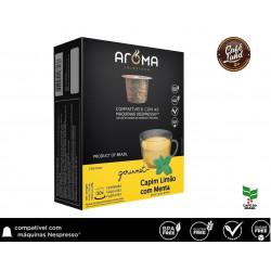 Chá Capim Limão com Menta - Aroma