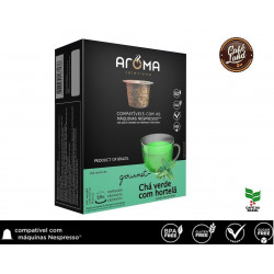 Chá Verde com Hortelã- Aroma