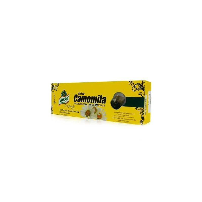 Chá Camomila - BARÃO (10 cápsulas Compatíveis Nespresso