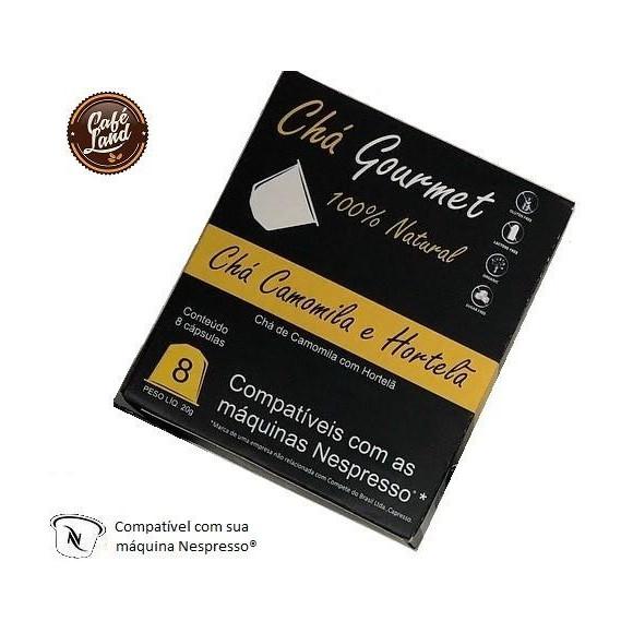 Chá Camomila e Hortelã Capresso (Cx. 8 Cápsulas) padrão Nespresso®