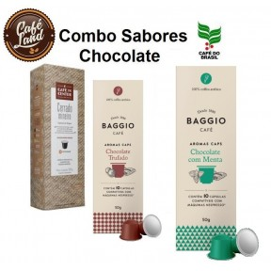 Combo Café Aromatizado - Chocolate (30 Cápsulas)