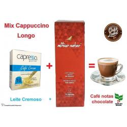 Mix Cappuccino 1 - Intenso Longo (compatível Nespresso)