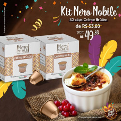 Combo 20 Cáps Crème Brûlée - Italiano Nero Nobile