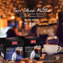 Combo Café Melitta Intenso...