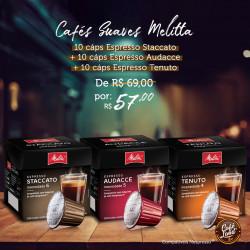 Combo Café Melitta Suave 30...