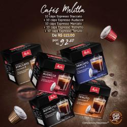 Pack Café Melitta 50 Cáps:...