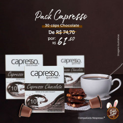 Pack Capesso 30 Cáps...