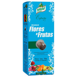 Chá Flores e Frutas - BARÃO (10 cápsulas) Compatíveis Nespresso