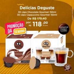 Combo Delícias Deguste 60...