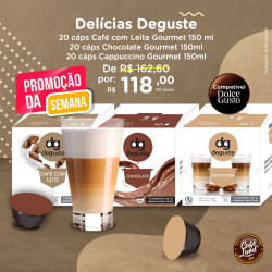 Combo Deguste Café com...