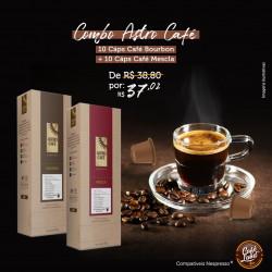 Combo Astro Café - Bourbon + Mescla (20 cápsulas)