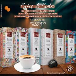 Combo Café do Centro - Origens (60 cápsulas)