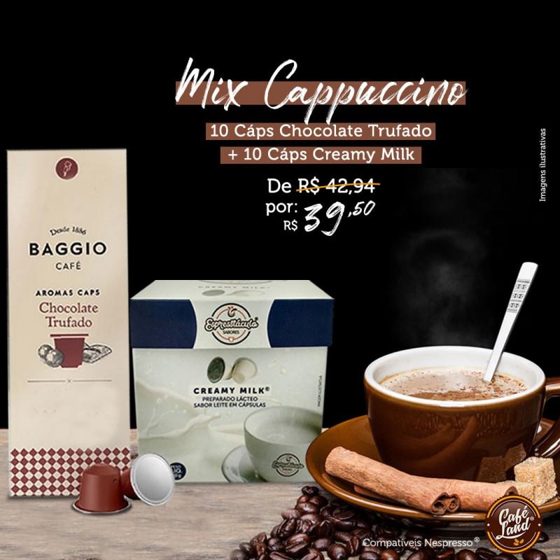 Mix Cappuccino moderado tipo italiano - Trufado