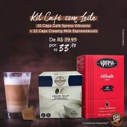 Café Spress e Creamy Milk...