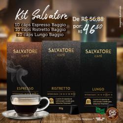 Trio Cafés Salvatore Lungo,...