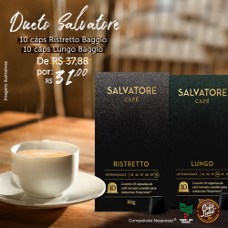 Dueto Cafés Salvatore Lungo...
