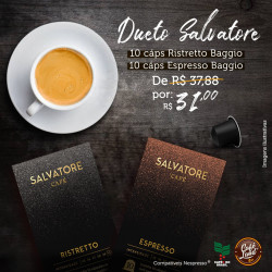Dueto Cafés Salvatore...