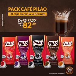 Pack Cafés Pilão Variedades...
