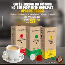 Cafés Turma da Mônica...