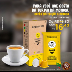 Café Turma da Mônica: Suave...