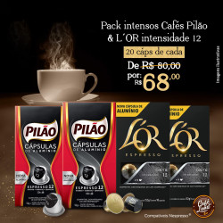Pack Cafés 40 Cáps. de...