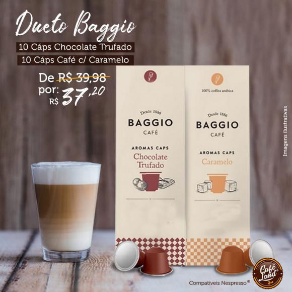 Combo Cafe Gourmet aromatizados Baggio (20 Cápsulas)