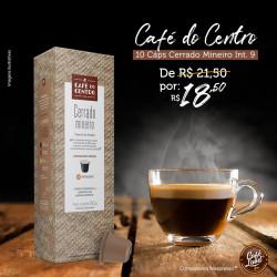 Café do Centro - Cerrado Mineiro (intensidade 9)