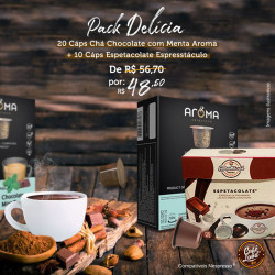 Pack Delícia (30 cáps):...
