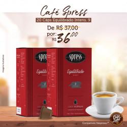 Café Spress Equilibrado (20 cápsulas Intensidade 9)