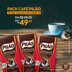 Pack Café Pilão 30 Cáps...
