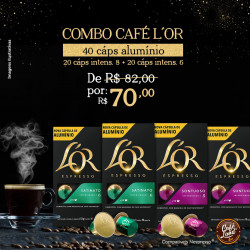 Combo Cafés L'OR 40...
