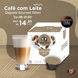 Café com Leite Deguste...
