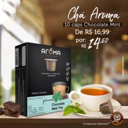 Chá Chocolate Mint Tea - Aroma compatível Nespresso®