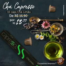 Chá Mate Limão Capresso (10 cápsulas)
