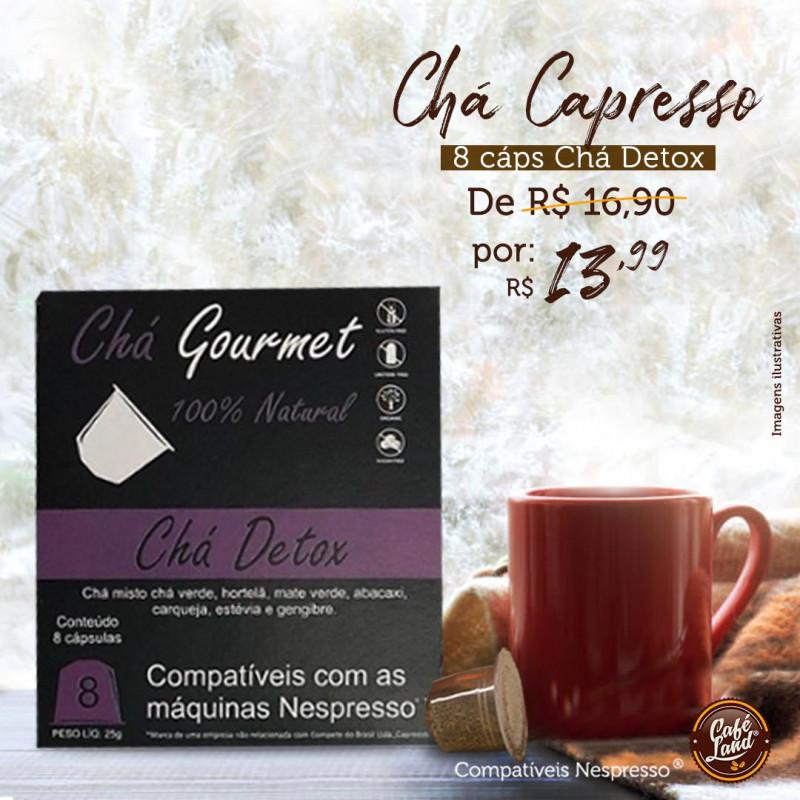 Chá Detox (cx. com 8 cápsulas) compatível Nespresso®
