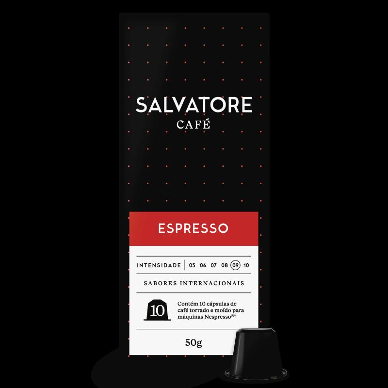 Salvarore espresso (10 caps compatíveis Nespresso)