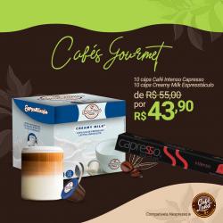 Combo Capresso Intenso: 10 Cáps Leite + 10 Cáps Café Intenso (20 Cáps) compatível Nespresso®