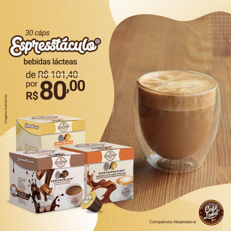 Trio Espresstáculo® 3C: Chocolate + Cappuccino c/ Canela + Crème Brûlée compatíveis Nespresso®  - 1