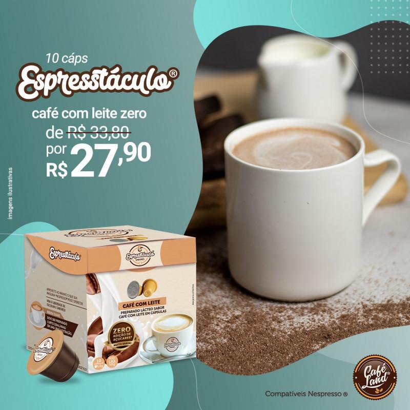 Café com Leite Zero Espresstáculo® 10 Cápsulas compatíveis Nespresso®  - 1