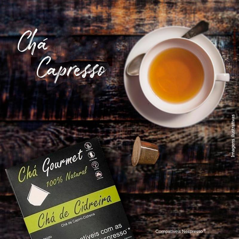 Chá Cidreira Gourmet Capresso (Cx. 8 Cápsulas) compatível Nespresso® Capresso  - 1